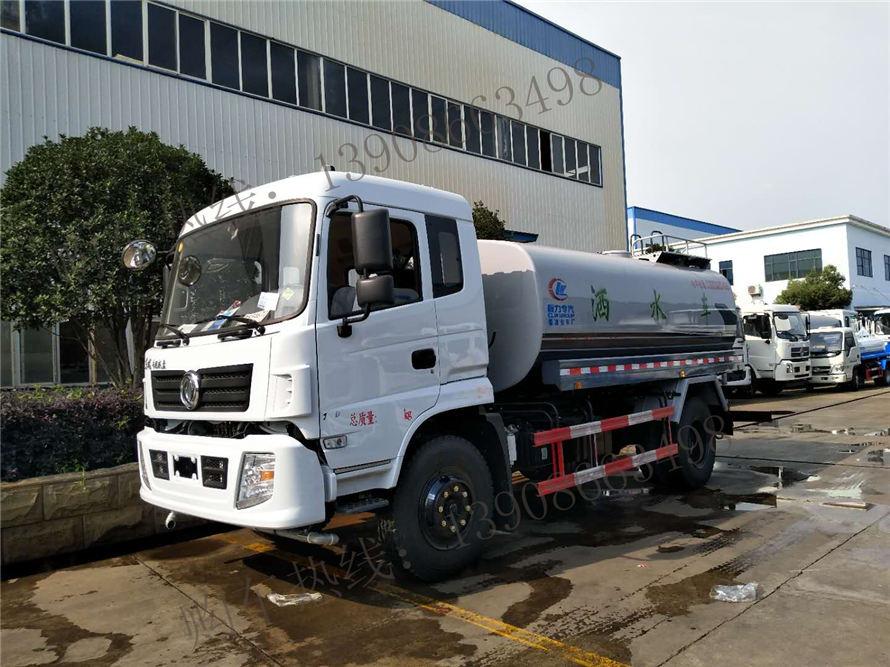 东风国五玉柴12吨洒水车
